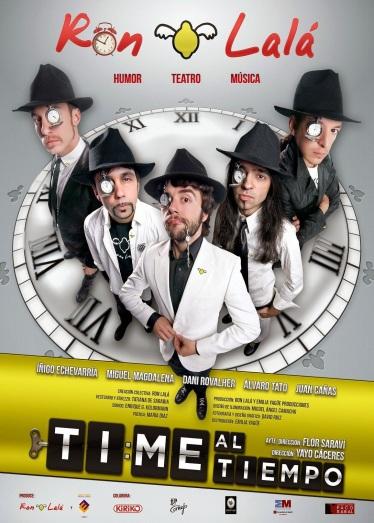 cartel-time-al-tiempo-ron-lala
