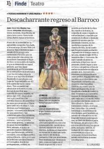 Crítica La Razón 15 febrero 2019